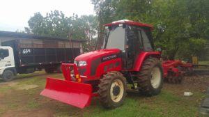 90HP 4WD de Tractor van het Landbouwbedrijf met VoorLader