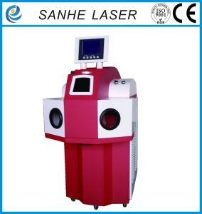 CNC automática soldadora láser joyas joyería para la soldadura.