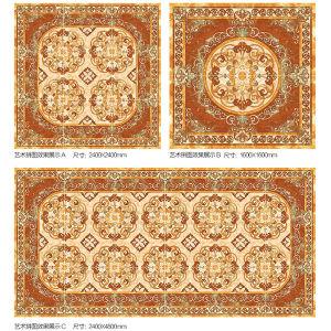 Verglaasde Ceramiektegel voor Plattelander
