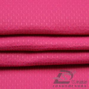 75D 230t Water & Wind-Resistant Piscina Sportswear casaco para Tecidos Jacquard pontilhada misto de bambu 100% poliéster Pongées Fabric (E070)