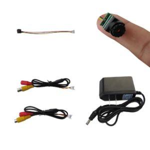 12V Micro câmera de segurança para casa, Car, Fpv, Monitorização de Fábrica (520TVL, 0,008lux, Tamanho: 9.5X9.5X18mm)
