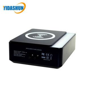 Зарядное устройство для беспроводной связи стандарта Qi 8 порт USB быстрое зарядное устройство для мобильных телефонов зарядной станции
