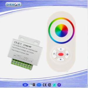 12-24VDC 5A*4 canais de controlo remoto RF Wireless Controlador de iluminação LED