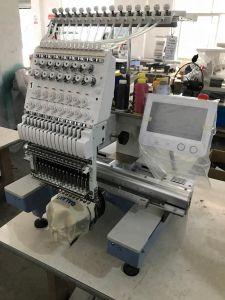 형제 소프트웨어 판매 2 헤드 같이 공업용 미싱기가 모자 편평한 t-셔츠를 위한 가장 싼 Tajima 타입-2 헤드 자수 기계에 의하여 자수 중국 구두를 신긴다