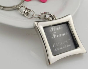 Keychain 창조적인 선물을 광고하는 프레임 모양 열쇠 고리 승진 선물