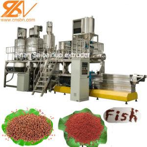 L'Aquarium de sortie élevé des aliments pour poissons Pellet usine de machines de l'extrudeuse