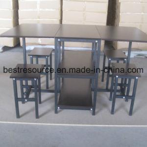 Tabla 1 y 4 sillas mesa plegable con silla Set