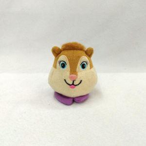 Mini peluche cabeza de animal Bottle Cap juguetes para la tapa del frasco de perfume