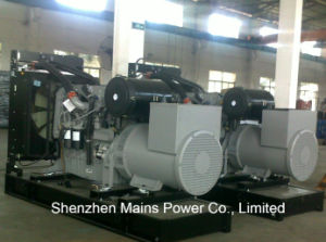 550kVA 440kw 비상 전원 영국 엔진 디젤 엔진 발전기 세트