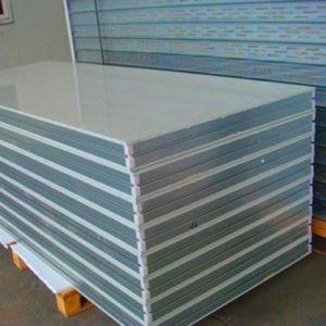 Prix de production de matériaux de construction du panneau de toiture en polyuréthane