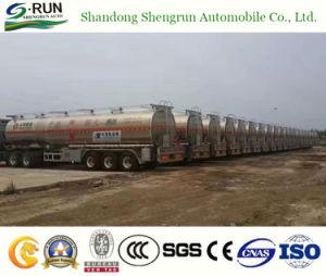 Shengrunのアルミ合金のオイルまたは燃料またはディーゼルまたはガソリンタンカータンクセミトレーラーのトラックのトレーラー