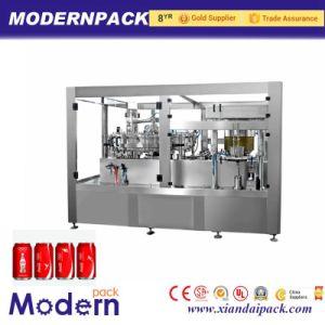 De aluminium Ingeblikte Machine van de Vuller van de Frisdranken van het Bier van de Soda van de Drank