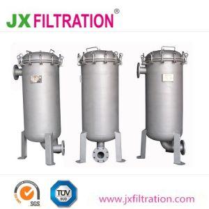 Aço inoxidável alojamento vários líquidos industriais filtro de mangas
