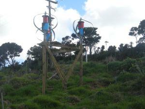 wind 1000W Maglev & Zonne Onafhankelijke Systom voor Afgelegen Gebied
