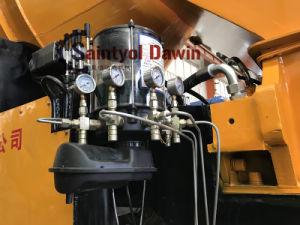 Pompa per calcestruzzo di qualità di serie di Hbt Dhbt con 30m3 40m3 60m3 80m3 per possibilità di pompaggio prodotta ora