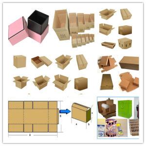 Автоматической коробки из гофрированного картона лучший принтер резак для продажи машины