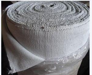 Cinta de fibra cerámica para materiales aislantes de calor
