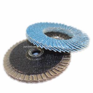 中国の製造業者の金属および木製の粉砕ディスクのための研摩の折り返しディスク