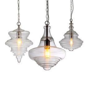 Estilo Nórdico de moderno diseño minimalista y creativo de la luz Colgante de Vidrio Soplado