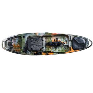 El sábalo de 10 pies de propulsión Kayac Bote Pedal LLDPE de alta calidad para la pesca