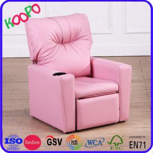 Lazy Boy cadeira de massagens de Reclinação PU Kids poltrona reclinável/móveis de crianças