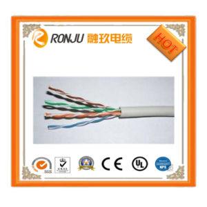 cavo variopinto del collegare elettrico 18AWG/pianamente del Rainbow/PVC di rame del conduttore 80c isolato