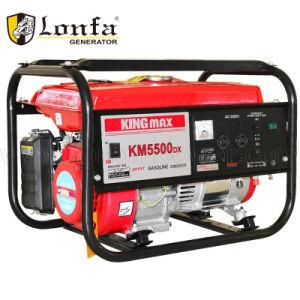 2-5kw Km5800dxe 가솔린 또는 휘발유 발전기 6.5HP Gx200