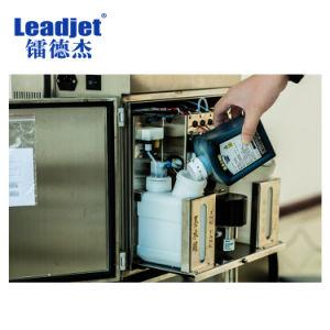 Machine van de Druk van de Code van de Datum van de Fles van het Systeem van de Levering van de Inkt van Leadjet V98 de Ononderbroken Plastic