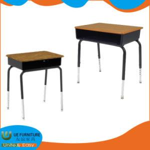 Fabrik-Zubehör-Metallrahmen-Höhen-justierbare Bein-Schule-Schreibtisch-Möbel