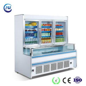 Congelatore a doppia temperatura di Combi per il supermercato (ZHB-25)