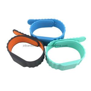 Wristband impermeabile del silicone di 13.56MHz MIFARE 1K S50 RFID