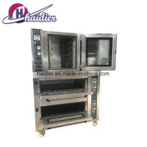 De Oven van het Brood van het Roestvrij staal van de Machine van de Oven van de Pizza van het Baksel van het Dek van het gas