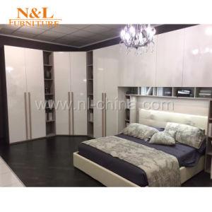 N&L Armoire chambre à coucher modernes en bois Meubles de rangement ...