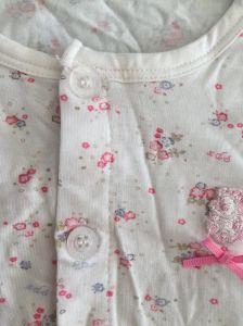 Barato Unissexo Personalizar adorável Soft bebé confortável de algodão penteado romper