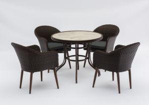 옥외 작은 술집 의자 & 테이블 고정되는 HS30330c&HS20108dt