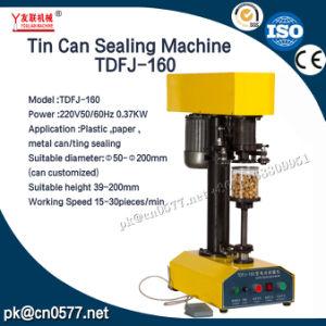Canning Lata de la máquina La máquina de sellado para la miel Tdfj-160