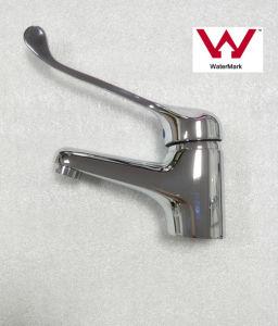 透かしは承認した真鍮の円形の無効洗面器の蛇口(HD6030)を