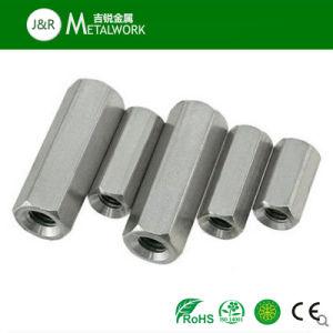 Noce Hex lunga della Manica dell'acciaio inossidabile di SS304 SS316 (DIN6334)