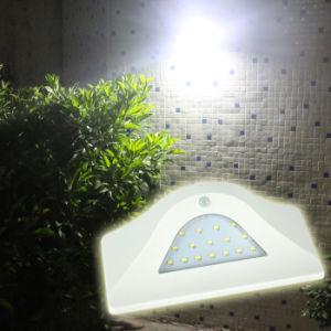 16 LED IP65はPIRの動きセンサーライト薄暗いライトが付いている太陽壁ライトを防水する