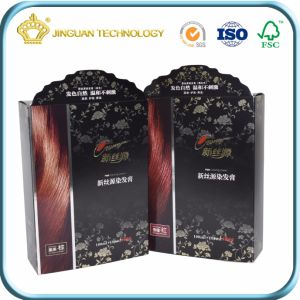 Gloss Laminated Cardboard Paper Packaging Box for To hate Dyes