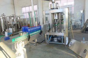 Selz gassoso della bevanda della bibita analcolica dell'animale domestico della bottiglia automatica del vetro da bottiglia W 3 nella linea di produzione dell'impianto di imbottigliamento per la coca-cola della Pepsi-cola