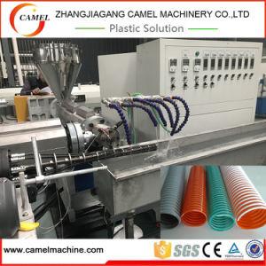 Mangueira em espiral de fibra de PVC máquina de extrusão
