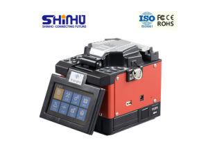 Optischer Lösungs-Versorger-verbindene Maschinen-Faser zum Abonnenten 2 Jahre Garantie-Lichtbogen-Schmelzverfahrens-Filmklebepresse-