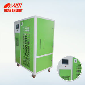 Fluxo de grandes geradores Oxihidrogénio OH7500