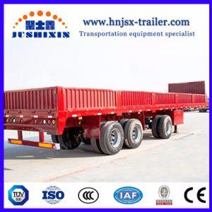 40 Tonnen 3 Wellen-Seitenwand-Ladung-Schlussteil-multi Lastwagen-Schlussteil-mit niedrigstem Preis