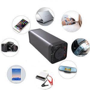 Mini portátiles UPS alimentación 220V AC Banco de potencia de salida de 150W para portátiles.