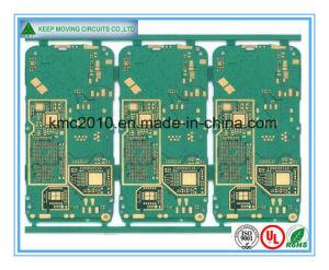 A imersão de fabricação de PCB da camada 1-30ouro, estanho; HASL Fractius, acabamento de OSP