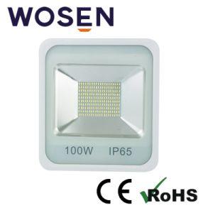 100W SMD LEDのよい熱放散IP65黒いLEDの洪水ライト