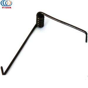 OEM Long Leg en acier au carbone Le ressort de torsion ressort en spirale