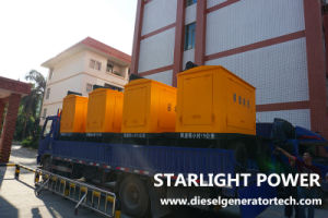 350квт электрический генератор Volvo Tad1344ge генераторная установка двигателя Silent генераторах прицепа